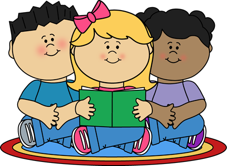 Group Reading Center Clip Art