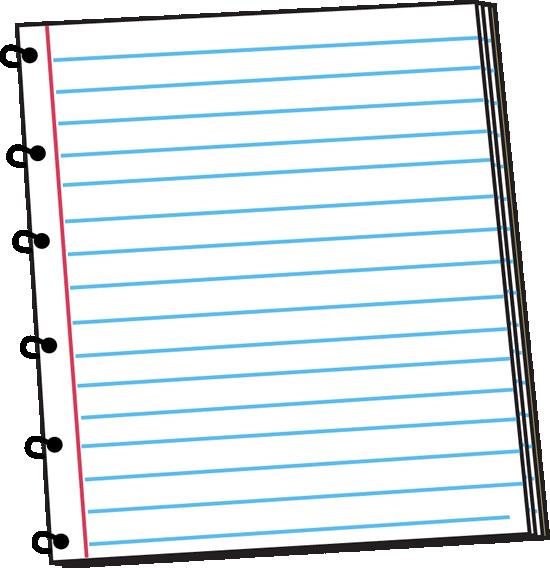 Spiral Notebook Clip Art - Spiral Notebook Vector Image
