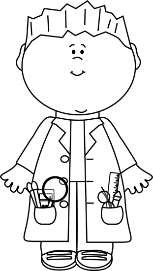 black and white boy scientist clip art black and white boy scientist vector image black and white boy scientist clip art