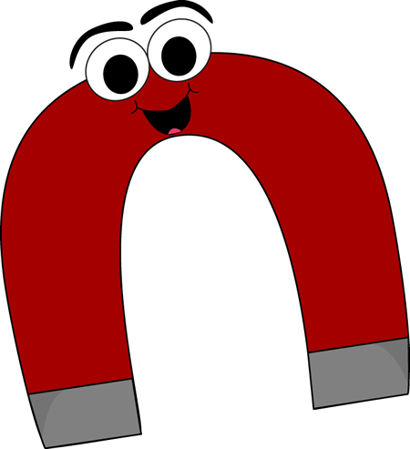 Cartoon Horseshoe Magnet