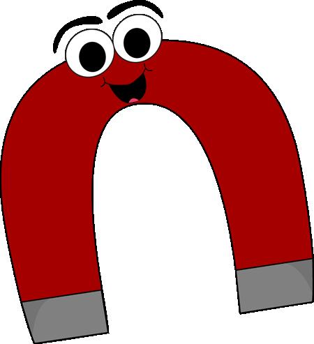 Cartoon Horseshoe Magnet