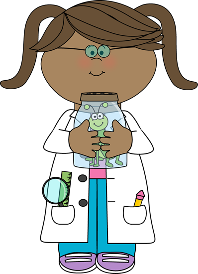 Girl Scientist with Insect Jar