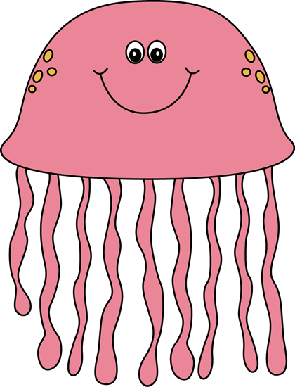 Cute Cartoon Jellyfish