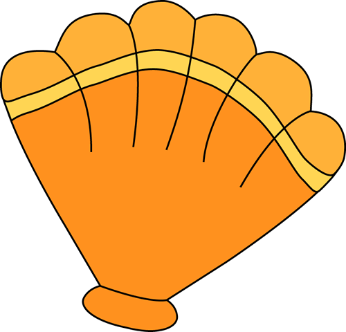 Orange Sea Shell