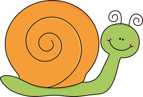 Green and Orange Snail