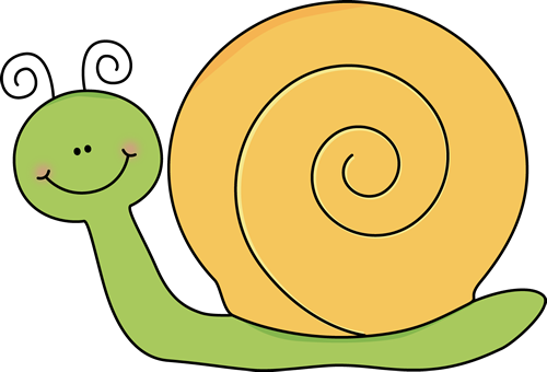 Green and Yellow Snail