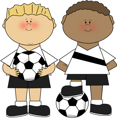 Image result for clipart child playing soccer