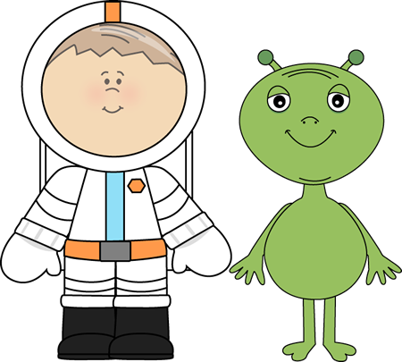 Alien and Astronaut