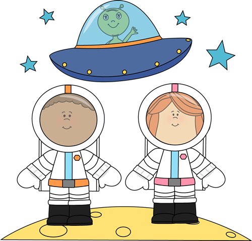 astronauts in space clipart - photo #34