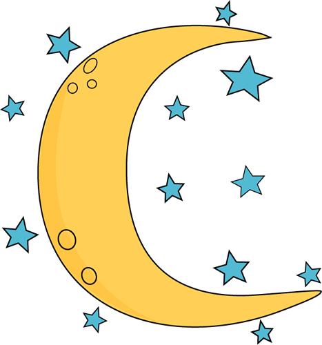 crescent moon and stars clip art crescent moon and stars image rh mycutegraphics com moon clip art free images moon clip art images