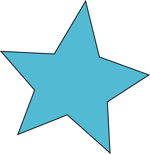 Cute Blue Star