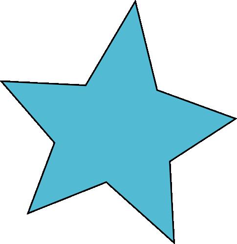 Cute Blue Star
