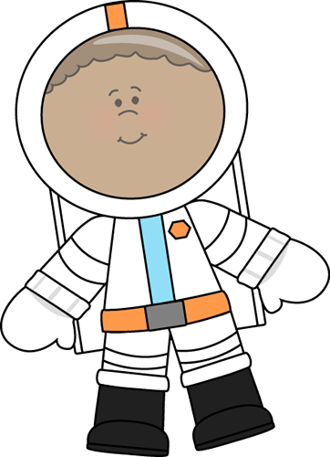 Little Boy Astronaut Clip Art Image - little boy astronaut wearing a    Kid Astronaut Clip Art