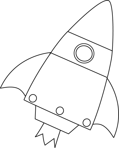Clipart Rocket Black And White | www.imgkid.com - The
