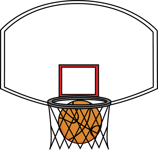 Basketball Backboard and Ball