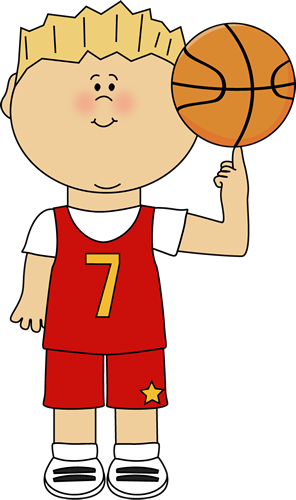 Basketball Player Balancing Ball on Finger Clip Art ...