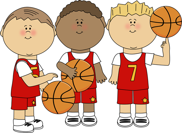 Boy Basketball Players