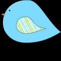 Blue Spring Bird
