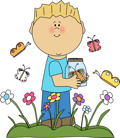 Boy in a Butterfly Patch