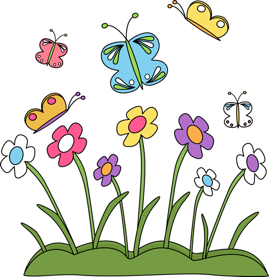 Spring clip art spring images spring flowers and butterflies mightylinksfo Choice Image