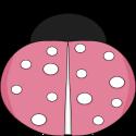 Pink Spring Ladybug