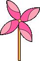 Spring Pinwheel