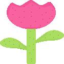 Spring Polka Dot Tulip