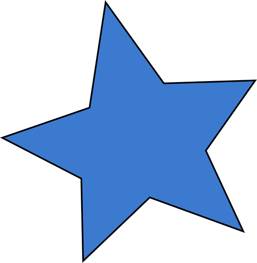 Image result for cute blue star clipart