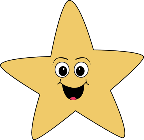 Happy Face Star
