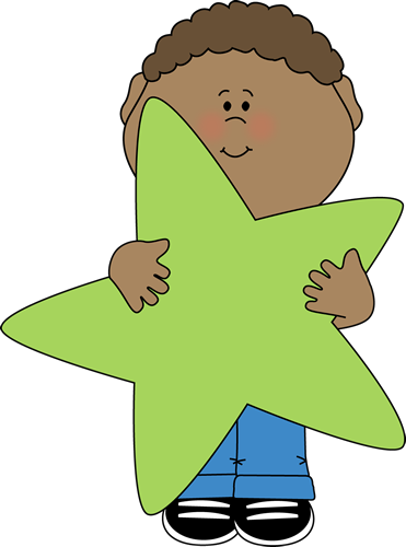 Little Boy Holding a Star