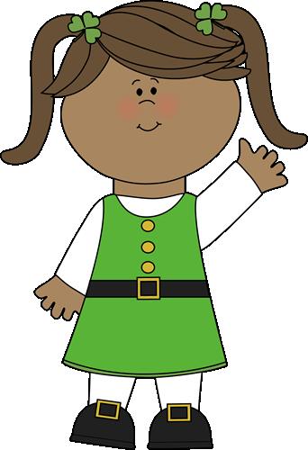 Cute Saint Patrick's Day Girl