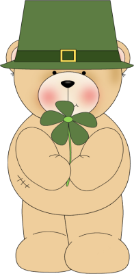 Irish Bear Clip Art