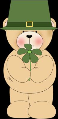 Irish Bear Clip Art