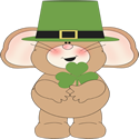 Irish Mouse Clip Art