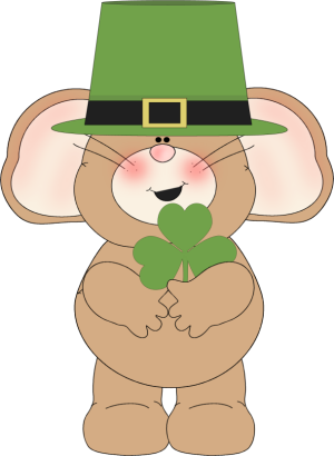 Irish Mouse Clip Art