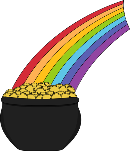 Image result for pot of gold clipart