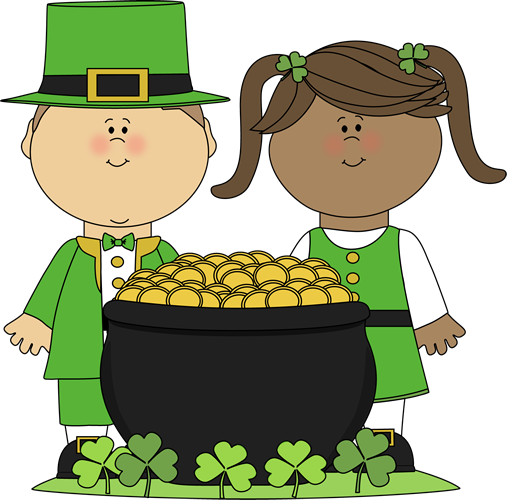 Saint Patrick's Day Kids
