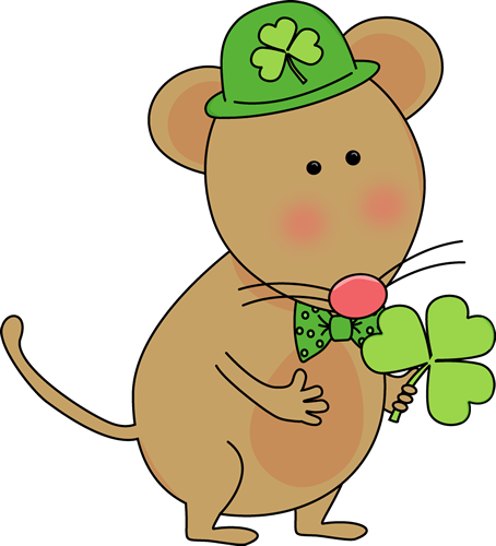 Saint Patrick's Day Mouse