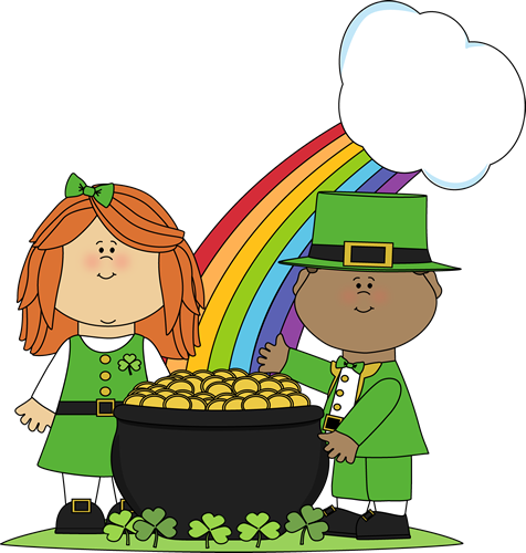 Image result for st patricks day clipart school
