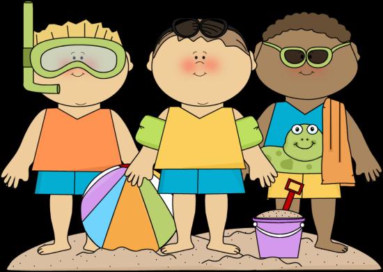 Summer Kids Clip Art - Summer Kids Images
