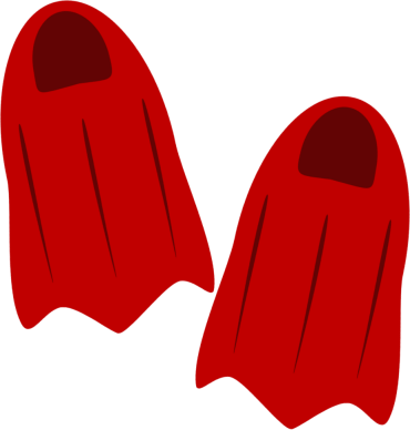 Flippers Clip Art