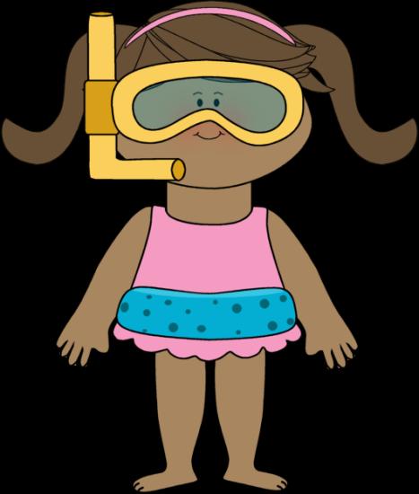 Kids swimming clipart  Summer Kids Clip Art - Summer Kids Images