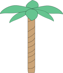 Plain Palm Tree Clip Art Clip Art