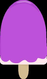 Purple Ice Cream Bar