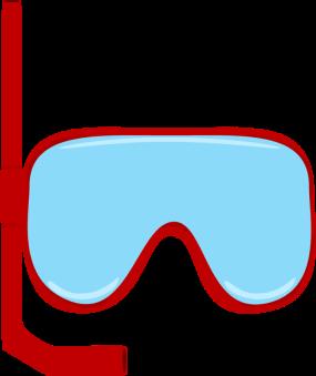 Snorkle Goggles Clip Art