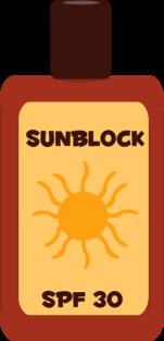 Sunblock Clip Art