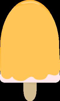 Yellow Ice Cream Bar