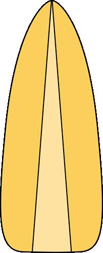 Yellow Surfboard