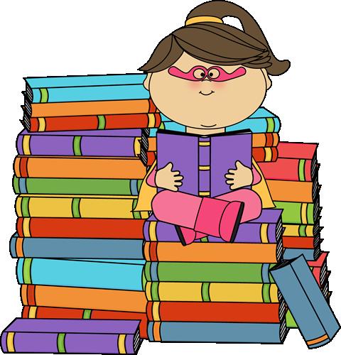 Superhero Girl Bookworm