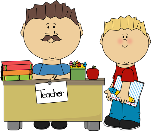 male teacher and student clip art male teacher and